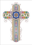 11-1270 Byzantine Cross by Vickery Collection 108 x 158
