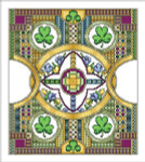 13-2276 Celtic March by Vickery Collection 160 x 182