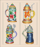 14-2252 Beer Stein Seasons by Vickery Collection 140 x 168