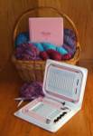 Denise Interchangeable Knitting Needle Kit Pink Case Support Breast Cancer Research