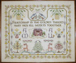 Dinky-Dyes Châtelaine Designs CHAT081 Friendship Sampler