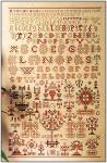 Sampler - 1854 Permin Graphs