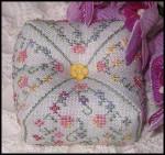 JM-062 Dinky-Dyes DD Designs Spring Flowers Tuffet