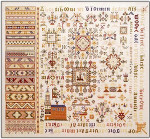 Sampler - 1663 Permin Graphs