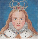 "LL138 Labors Of Love Elizabeth 18 Mesh 5"" x 5"""