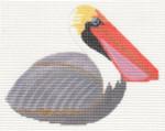 LL306O Labors Of Love Gray Pelican 18 Mesh 4.75x3.5
