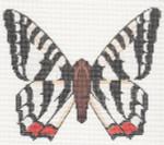 LL440K Labors Of Love Zebra Butterfly 18 Mesh 6.5x5.25