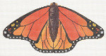 LL440C Labors Of Love Orange Monarch Butterfly 18 Mesh