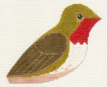 LL306Q Labors Of Love Ruby Throated Hunningbird 18 Mesh 4.25x3.5