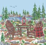 SWB167 Mountain Adirondack 8X8 18 Mesh Cooper Oaks Designs