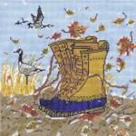SWB1085 Fall Boots 8X8 18 Mesh Cooper Oaks Designs