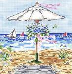 SWB1023 Beach Wedding 7X7 18 Mesh Cooper Oaks Designs