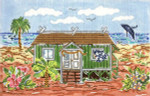 SWB143 Hawaiian Cottage 7X11 18 Mesh Cooper Oaks Designs