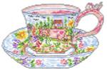 SWB1016 Mildred's Teacup 4.5X6.5 18 Mesh Cooper Oaks Designs
