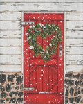 SWB1081 Red Door 8X10 18 Mesh Cooper Oaks Designs