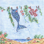 SWB1032 Laundry By the Sea 8X8 18 Mesh Cooper Oaks Designs