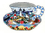 SWB102 Lighthouse Cup 4.5X6.5 18Mesh Cooper Oaks Designs