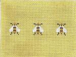 SWB1037 Bees 3.25X4.5 18 Mesh  Cooper Oaks Designs