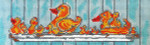 COL560A Bathtime Ducks A 2.5X8 18 Mesh Cooper Oaks Designs	$75.00