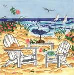 SWB104 Beach Adirondack Chairs 8X8 Mesh Cooper Oaks Designs