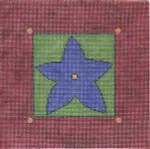 WK2014A Blue Star 8X8 13 Mesh Cooper Oaks Designs