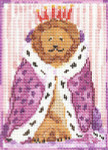 SVG631 Mr. Wonderful 5X7 13 Mesh Cooper Oaks Designs Lion