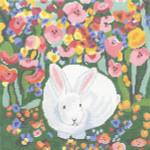 SVG634 Garden Bunny 12X12 13 Mesh Cooper Oaks Designsn