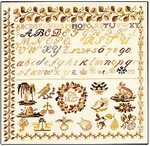 Sampler - 1827 Permin Graphs