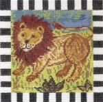 MML901 Larry Lion 5X5 18 Mesh Cooper Oaks Designs