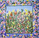 SVG647 Wildflowers 14X14 13 Mesh Cooper Oaks Designs