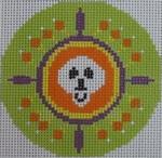 451J NeedleDeeva 18 Mesh 3x3 Halloween Whirlygig
