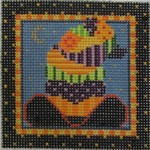 461P NeedleDeeva 18 Mesh 3x3 Cowgirl Witch Hat