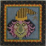 461C NeedleDeeva 18 Mesh 3x3 Carmella Bitchy Witchy