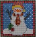 1319 NeedleDeeva 18 Mesh 3x3  Phillip Snowman