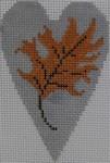 563D NeedleDeeva 18 Mesh 2.25X3.5 Leaf Heart