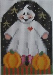 402 NeedleDeeva 2.5 x 3.75 18 Mesh Josephina Ghostly