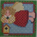 1314 NeedleDeeva 18 Mesh 3x3  Birdy the Angel