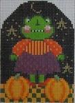 413 NeedleDeeva 2.5 x 3.75 18 Mesh Frederika Froggy