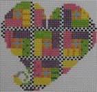 721A NeedleDeeva 2.75 x 2.75 18 Mesh Island Patchwork