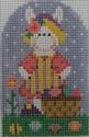 603I NeedleDeeva 2x3 18 Mesh Barbara Bunny