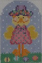 603K NeedleDeeva Designs 2x3 18 Mesh Delilah Duck
