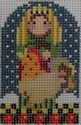 1350A NeedleDeeva 1.75 x 2.5 18 Mesh Shepherd and Rooster