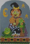431 NeedleDeeva 5 x 7.25 18 Mesh Mildred Toad Witch