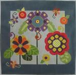 310 NeedleDeeva 11x11 13 Mesh Deeva's Garden 1