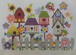 333 NeedleDeeva 16 x 11.75 13 Mesh Deeva's Birdhouse Garden