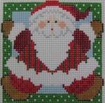1365E NeedleDeeva 3 x 3 18 Mesh Jumping Santa