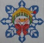1345F NeedleDeeva 3.8 x 3.8 18 Mesh LaVella the Snow Woman