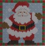 1365F NeedleDeeva 3 x 3 18 Mesh Santa Waving