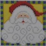 1365B NeedleDeeva 3 x 3 18 Mesh Santa with the Curly Beard