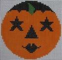 435G NeedleDeeva 2.66 x 2.66 18 Mesh Tootsie Pumpkinface